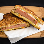 Jalape�o spam, KFC coleslaw and coon cheese toastie
